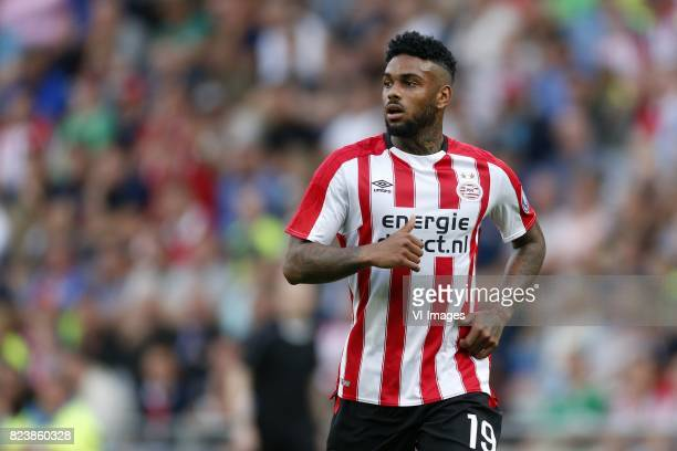 Jurgen Locadia of PSV during the UEFA Europa League third qualifying round first leg match between PSV Eindhoven and Osijek at Philips Stadium on...