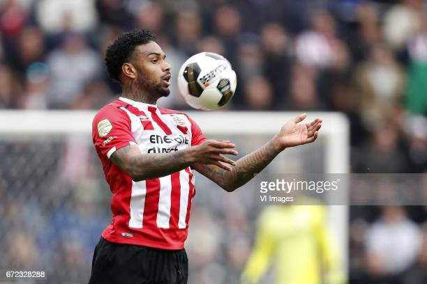 Jurgen Locadia of PSVduring the Dutch Eredivisie match between PSV Eindhoven and Ajax Amsterdam at the Phillips stadium on April 23 2017 in Eindhoven...