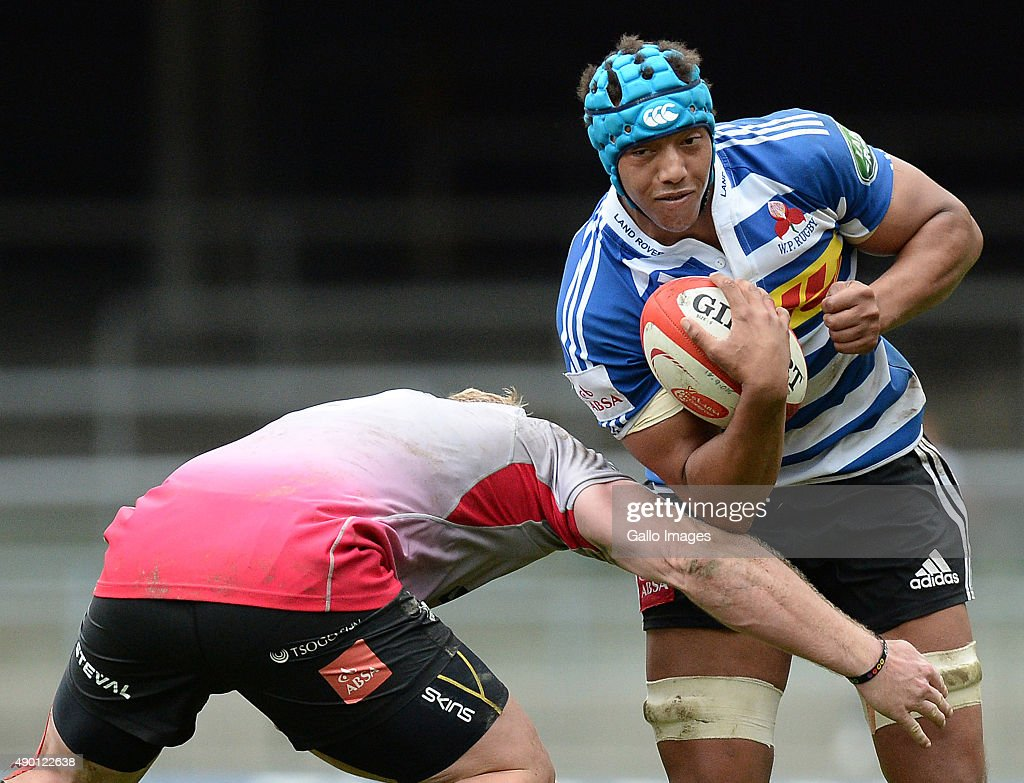 Jurie van Vuuren of Western Province during the Absa Currie Cup match between DHL Western Province and Steval Pumas at DHL Newlands Stadium on...