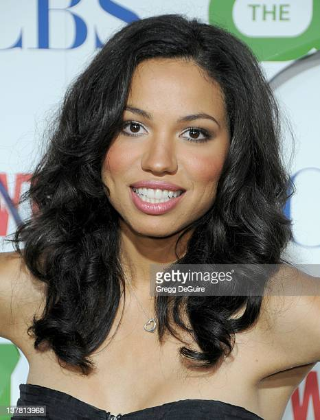 Jurnee Smollett arrives at the CBS The CW Showtime Summer Press Tour Party held at The Tent on July 28 2010 in Beverly Hills California