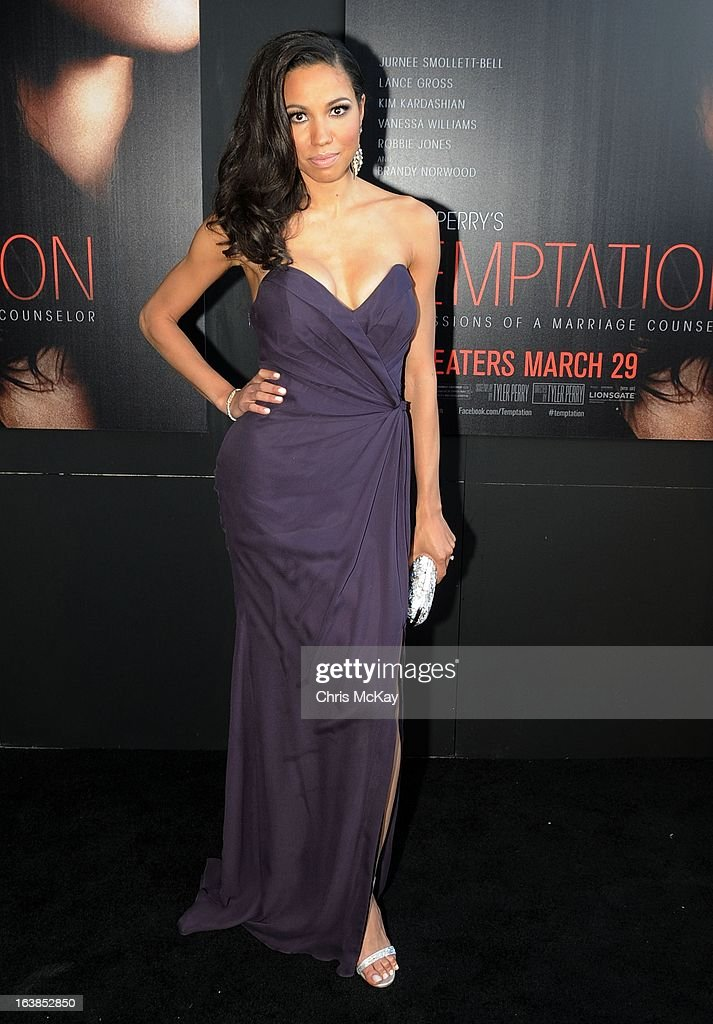 Jurnee Smollett-Bell attends the 'Tyler Perry's Temptation: Confessions Of A Marriage Counselor' Atlanta Screening at AMC Parkway Pointe on March 16, 2013 in Atlanta, Georgia.