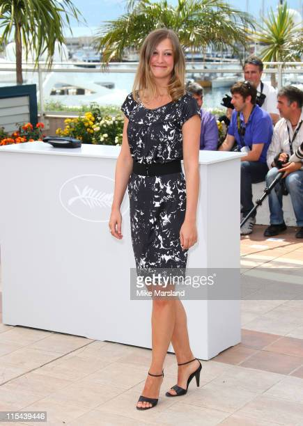 Juror Alexandra Maria Lara attends the Jury photocall during the 61st Cannes International Film Festival on May 14 2008 in Cannes France