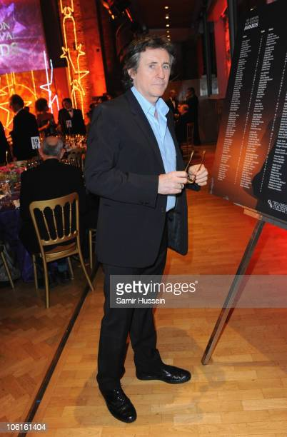 Juror and actor Gabriel Byrne attends the reception for the 54th BFI London Film Festival Awards at LSO St Lukes on October 27 2010 in London England