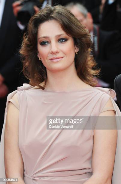 Juror Giovanna Mezzogiorno attends the Opening Night Premiere of 'Robin Hood' at the Palais des Festivals during the 63rd Annual International Cannes...