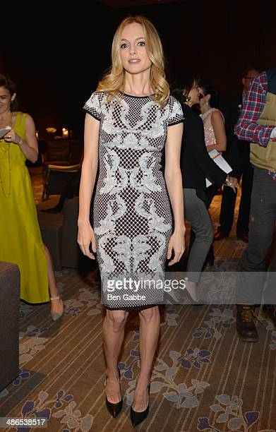 Juror Heather Graham attends the TFF Awards Night during the 2014 Tribeca Film Festival at Conrad New York on April 24 2014 in New York City