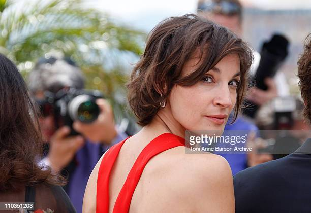 Juror Jeanne Balibar attends the Jury photocall during the 61st Cannes International Film Festival on May 14 2008 in Cannes France