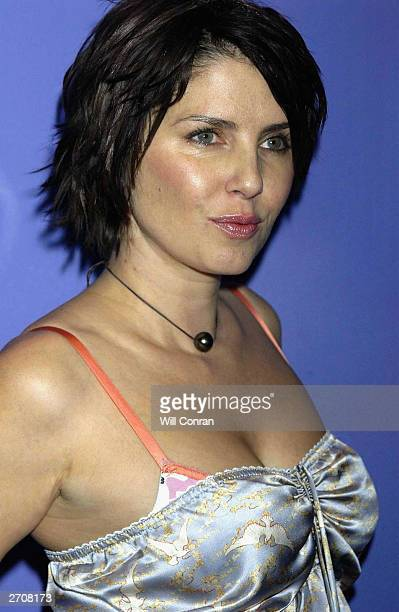 Juror Sadie Frost attends the presentation of prizes at the Raindance Film Festival at the UGC Haymarket on November 7 2003 in London