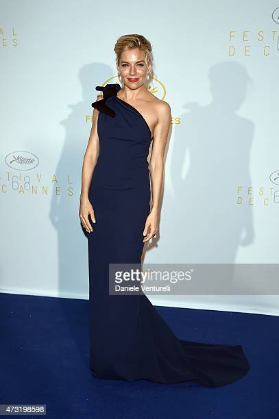 Juror Sienna Miller attends the opening ceremony dinner during the 68th annual Cannes Film Festival on May 13 2015 in Cannes France