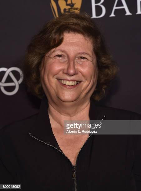 Juror/film editor Joan Sobel attend the BAFTA Student Film Awards at The Ace Hotel Theater on June 22 2017 in Los Angeles California