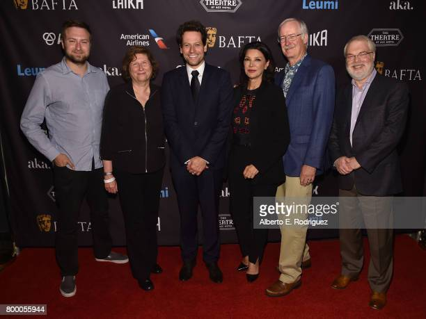 Jurors David Gelb Joan Sobel Ioan Gruffudd Shohreh Aghdashloo John Musker and Ron Clements attend the BAFTA Student Film Awards at The Ace Hotel...