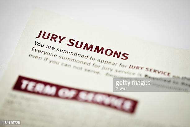Júri direito Summons