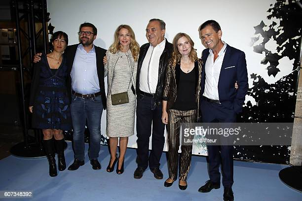 Jury Elsa Marpeau Erwann Kermorvant Pascale Arbillot Jean Nainchrik Isabelle Carre and Francois Velle attend the closing ceremony during the 18th...