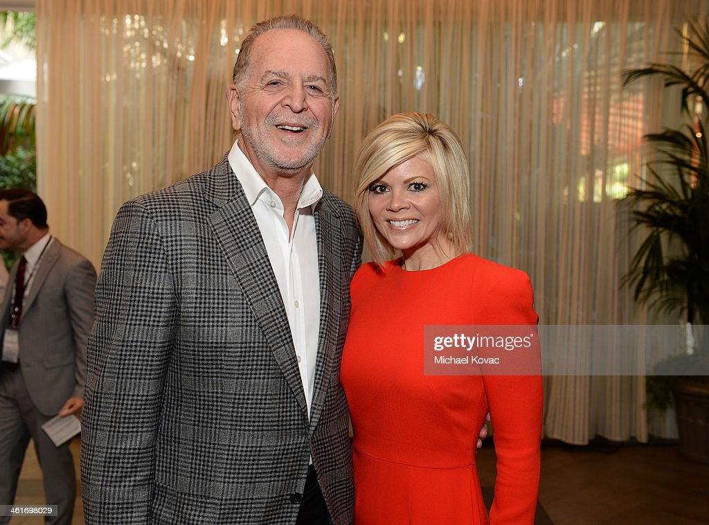 Jury for Television Chair Richard Frank and wife Leslie Frank attend the 14th annual AFI Awards Luncheon at the Four Seasons Hotel Beverly Hills on January 10, 2014 in Beverly Hills, California.