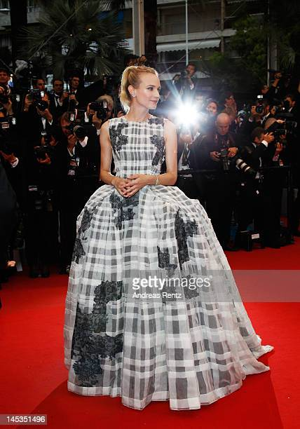 Jury member actress Diane Kruger attends the Closing Ceremony and 'Therese Desqueyroux' premiere during the 65th Annual Cannes Film Festivalon May 27...
