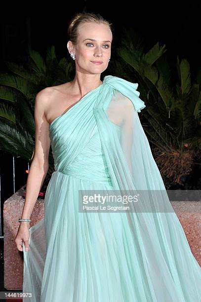 Jury member Actress Diane Kruger attends the Opening Night Dinner during the 65th Annual Cannes Film Festival at Palais des Festivals on May 16 2012...