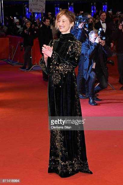 Jury member Alba Rohrwacher attends the closing ceremony of the 66th Berlinale International Film Festival on February 20 2016 in Berlin Germany