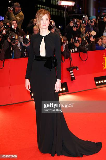 Jury member Alba Rohrwacher attends the 'Hail Caesar' premiere during the 66th Berlinale International Film Festival Berlin at Berlinale Palace on...