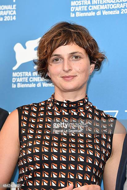 Jury member Alice Rohrwacher of Luigi de Laurentiis Venice Award for a Debut Film attends the Opening Photocall during the 71st Venice International...