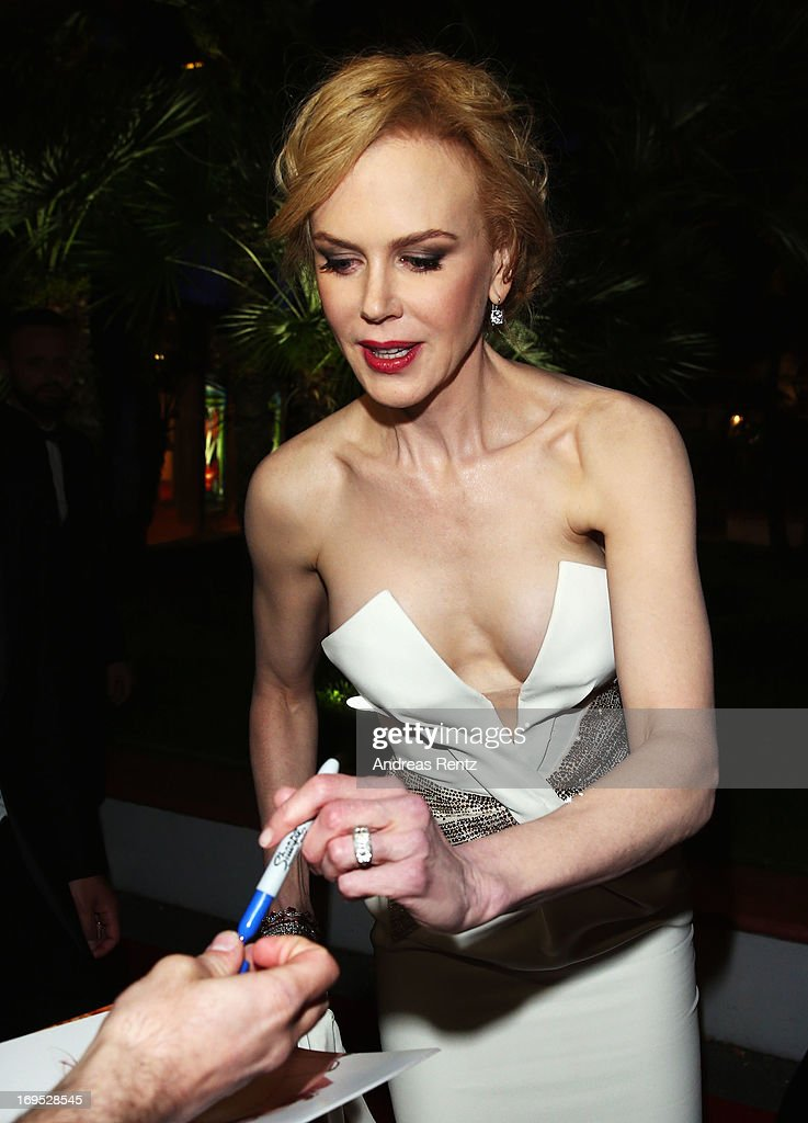 Jury member and actress Nicole Kidman attends the Palme D'Or Winners dinner during The 66th Annual Cannes Film Festival at Agora on May 26, 2013 in Cannes, France.