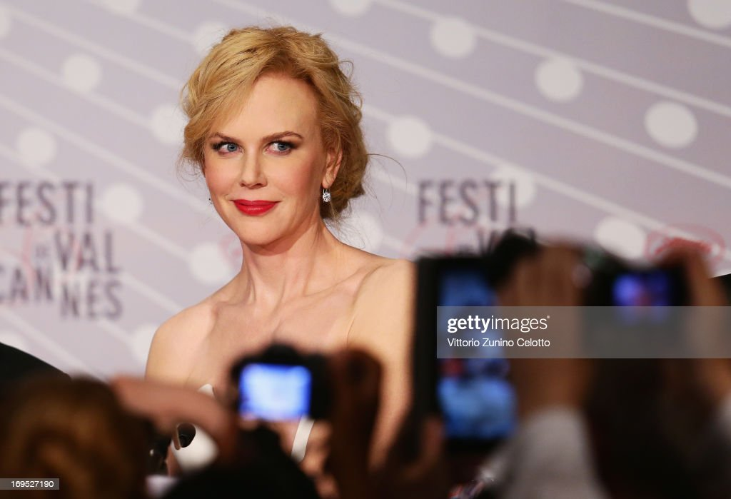 Jury member and actress <a gi-track='captionPersonalityLinkClicked' href=/galleries/search?phrase=Nicole+Kidman&family=editorial&specificpeople=156404 ng-click='$event.stopPropagation()'>Nicole Kidman</a> speaks at the Palme D'Or Winners Press Conference during the 66th Annual Cannes Film Festival at the Palais des Festivals on May 26, 2013 in Cannes, France.