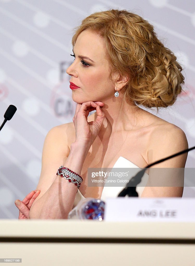 Jury member and actress Nicole Kidman speaks at the Palme D'Or Winners Press Conference during the 66th Annual Cannes Film Festival at the Palais des Festivals on May 26, 2013 in Cannes, France.