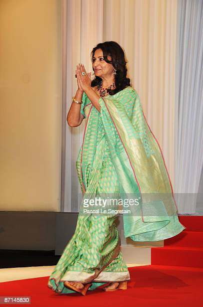 Jury Member and Actress Sharmila Tagore arrives at the Opening Ceremony at the Palais des Festivals during the 62nd International Cannes Film...