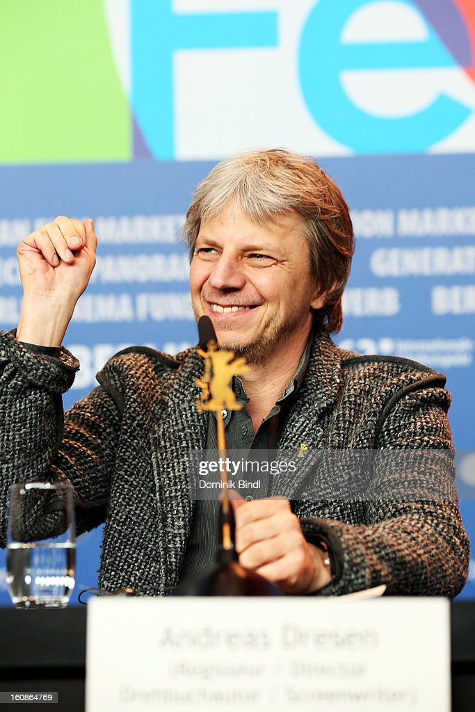 Jury member Andreas Dresen attends the International Jury Press Conference during the 63rd Berlinale International Film Festival at the Grand Hyatt on February 7, 2013 in Berlin, Germany.