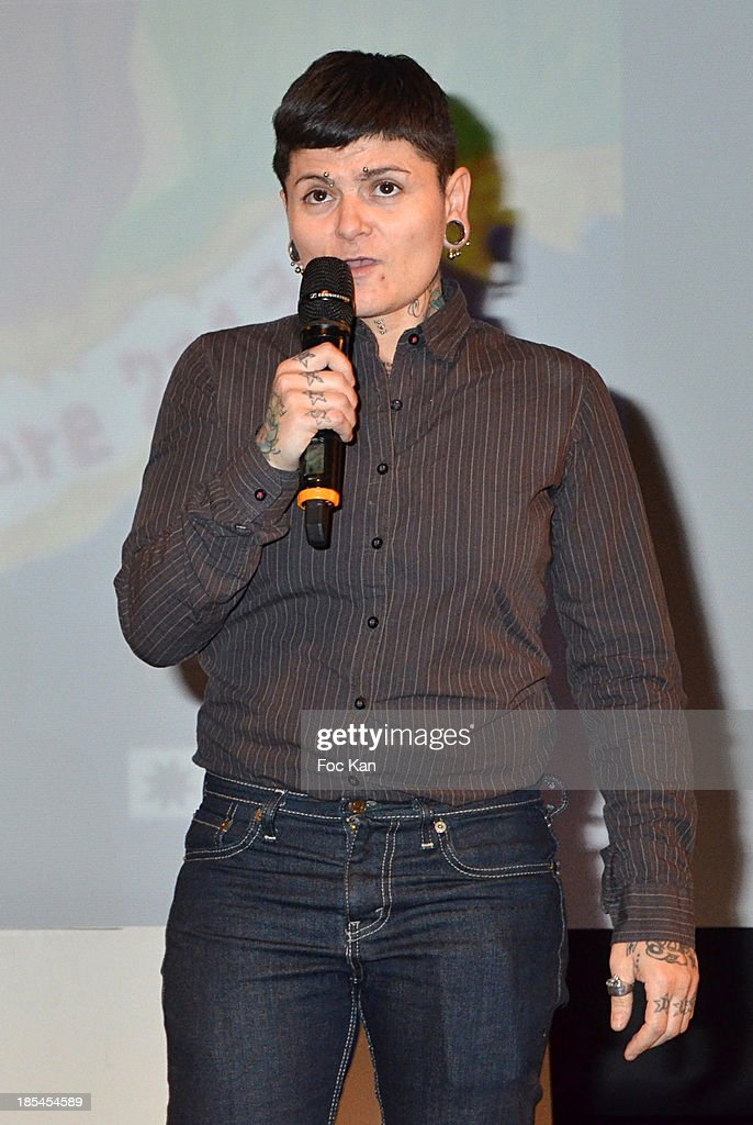 Jury member Andromak P4 attends the 'Cheries Cheris' Gay Lesbian Transexual 19th Film Festival Closing Ceremony At The Forum DesHalles on October 20, 2013 in Paris, France.