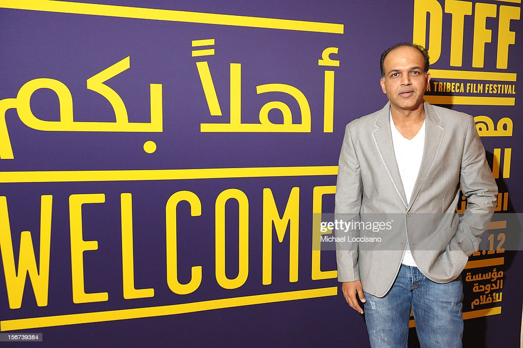 Jury member Ashutosh Gowariker at the India Discussion during the 2012 Doha Tribeca Film Festival at the Al Mirqab Boutique Hotel on November 20, 2012 in Doha, Qatar.