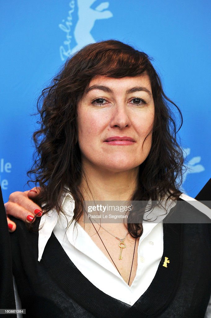 Jury member Athina Rachel Tsangari attends the International Jury Photocall during the 63rd Berlinale International Film Festival at the Grand Hyatt on February 7, 2013 in Berlin, Germany.