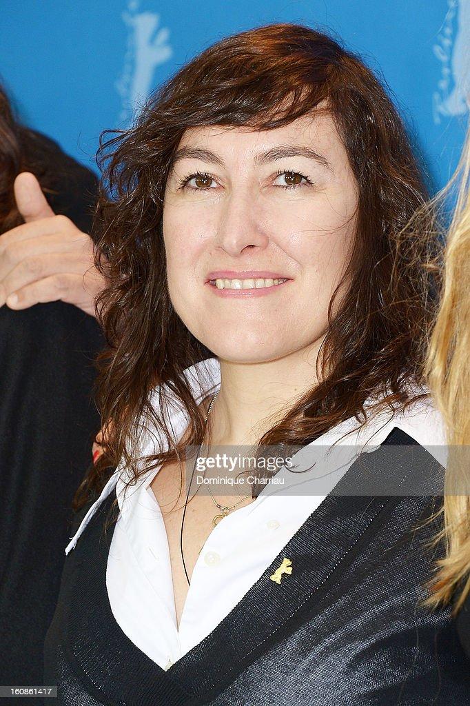 Jury member Athina Rachel Tsangari attends the International Jury Photocall during the 63rd Berlinale International Film Festival at the Grand Hyatt on February 7, 2013 in Berlin, Germany.