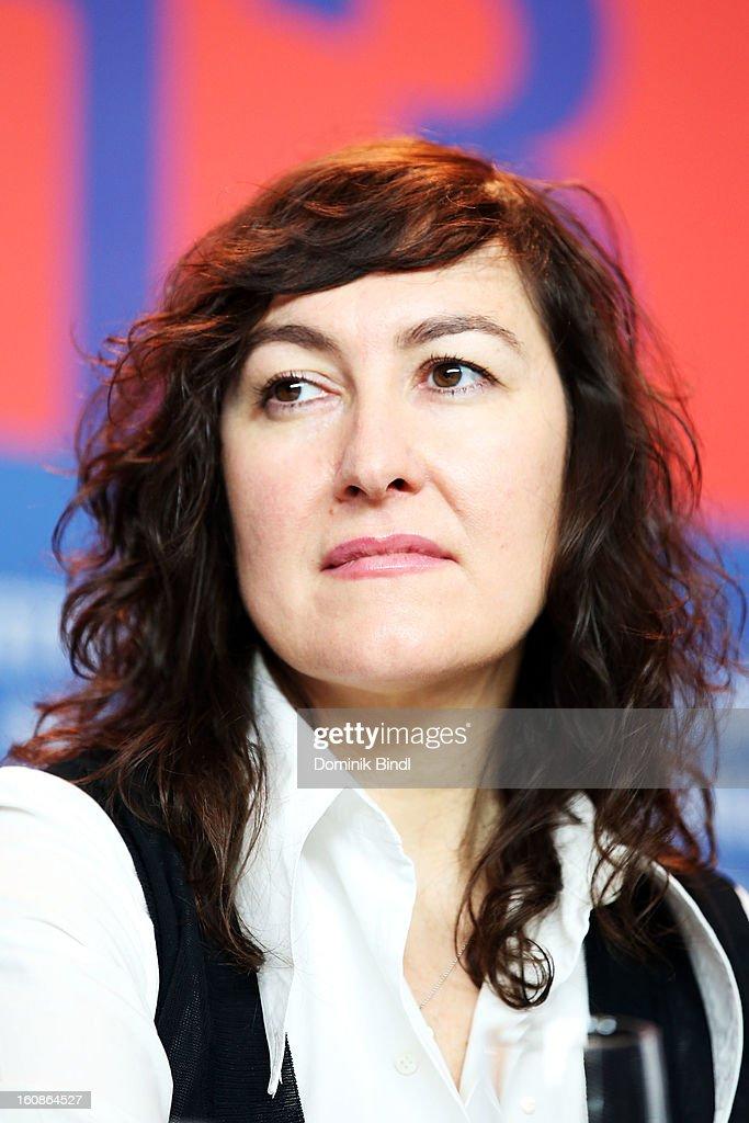Jury member Athina Rachel Tsangari attends the International Jury Press Conference during the 63rd Berlinale International Film Festival at the Grand Hyatt on February 7, 2013 in Berlin, Germany.