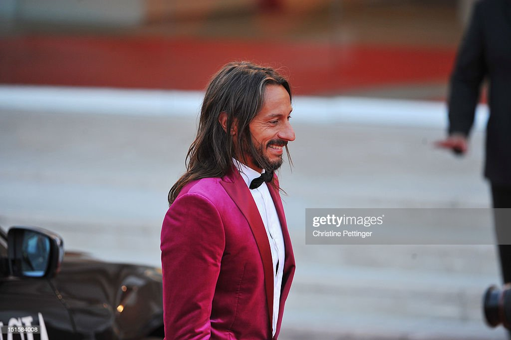 Jury member Bob Sinclar attends the Award Ceremony during The 69th Venice Film Festival at the Palazzo del Cinema on September 8, 2012 in Venice, Italy.