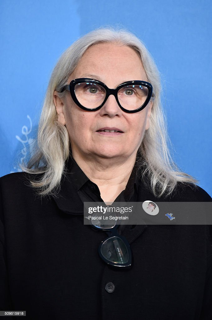 Jury member Brigitte Lacombe attends the International Jury photo call during the 66th Berlinale International Film Festival Berlin at Grand Hyatt Hotel on February 11, 2016 in Berlin, Germany.