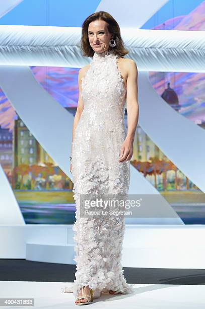 Jury member Carole Bouquet attends the Opening ceremony during the 67th Annual Cannes Film Festival on May 14 2014 in Cannes France