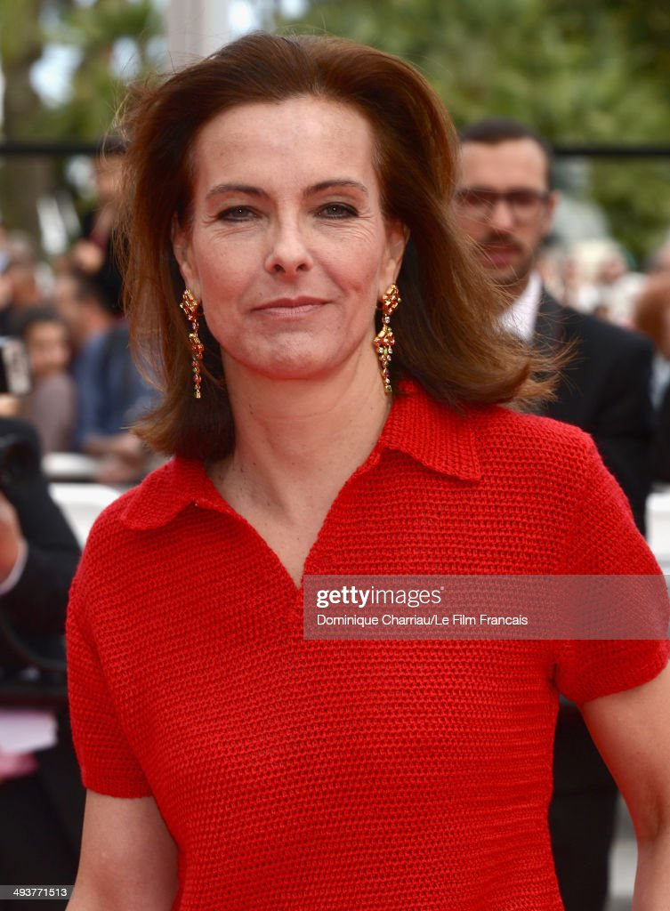 Jury Member <a gi-track='captionPersonalityLinkClicked' href=/galleries/search?phrase=Carole+Bouquet&family=editorial&specificpeople=208685 ng-click='$event.stopPropagation()'>Carole Bouquet</a> attends the red carpet for the Palme D'Or winners at the 67th Annual Cannes Film Festival on May 25, 2014 in Cannes, France.
