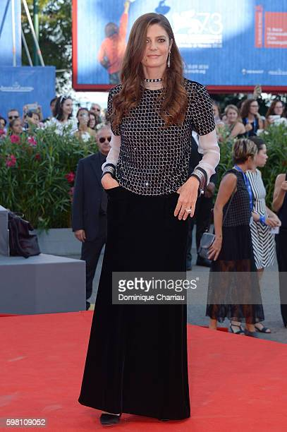 Jury member Chiara Mastroianni attends the opening ceremony and premiere of 'La La Land' during the 73rd Venice Film Festival at Sala Grande on...
