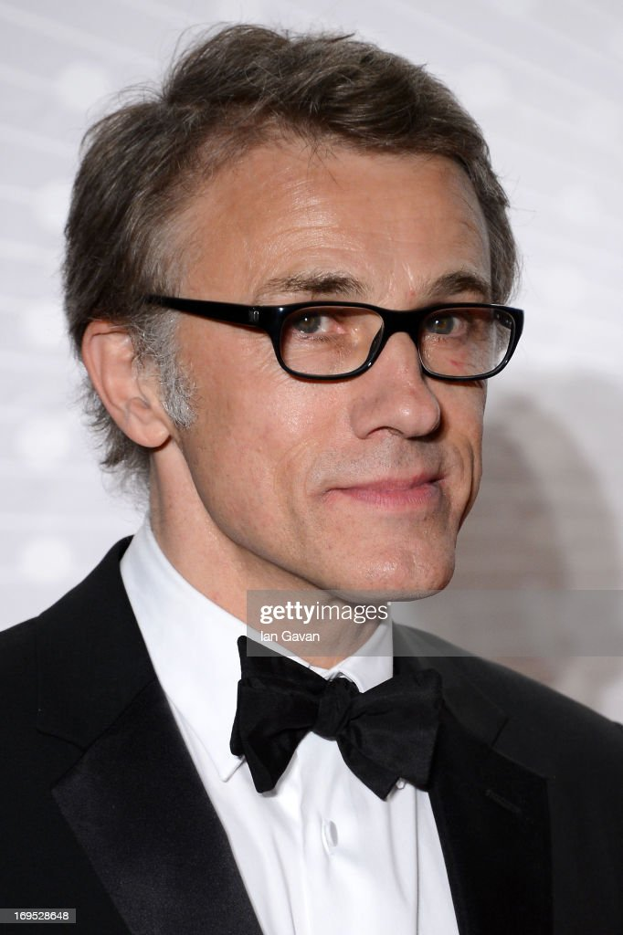 Jury member Christoph Waltz attends the Palme D'Or Winners dinner during The 66th Annual Cannes Film Festival at Agora on May 26, 2013 in Cannes, France.