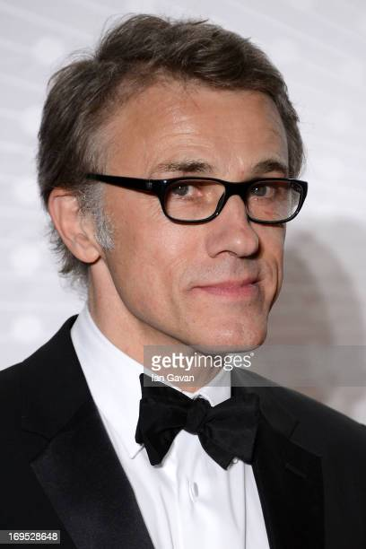 Jury member Christoph Waltz attends the Palme D'Or Winners dinner during The 66th Annual Cannes Film Festival at Agora on May 26 2013 in Cannes France