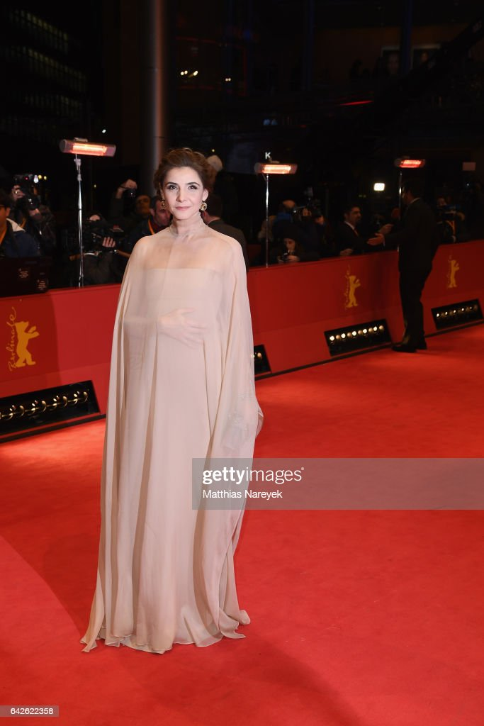 Jury member Clotilde Courau arrives for the closing ceremony of the 67th Berlinale International Film Festival Berlin at Berlinale Palace on February 18, 2017 in Berlin, Germany.