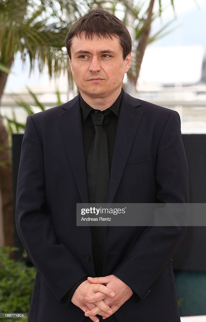 Jury member <a gi-track='captionPersonalityLinkClicked' href=/galleries/search?phrase=Cristian+Mungiu&family=editorial&specificpeople=4292523 ng-click='$event.stopPropagation()'>Cristian Mungiu</a> attends the Jury Photocall during the 66th Annual Cannes Film Festival at the Palais des Festivals on May 15, 2013 in Cannes, France.