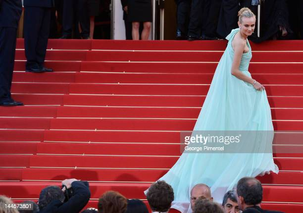 Jury member Diane Kruger attends the Opening Ceremony and 'Moonrise Kingdom' Premiere during the 65th Annual Cannes Film Festival at the Palais des...