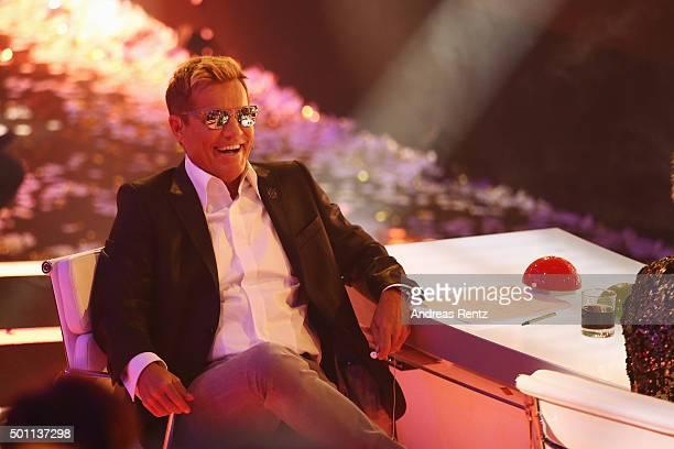 Jury member Dieter Bohlen attends the 'Das Supertalent' final show on December 12 2015 in Cologne Germany