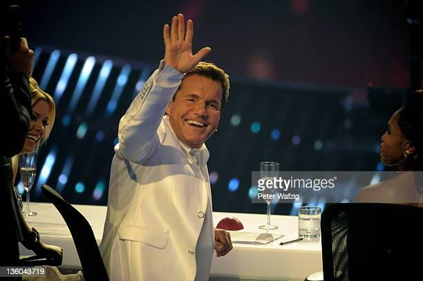 Jury member Dieter Bohlen during the Final of 'Das Supertalent' TV Show on December 17 2011 in Cologne Germany