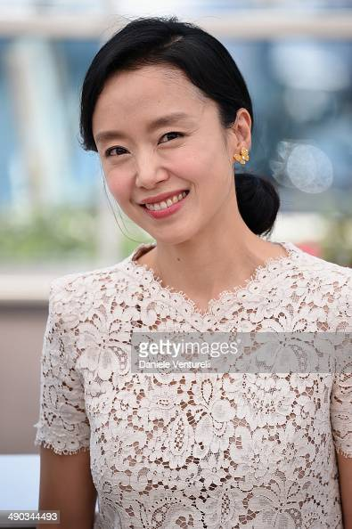 Jury member Doyeon Jeon attends the Jury photocall during the 67th Annual Cannes Film Festival on May 14 2014 in Cannes France