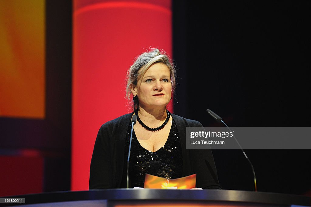 Jury member Ellen Kuras attends the Closing Ceremony during the 63rd Berlinale International Film Festival at Berlinale Palast on February 14 2013 in...