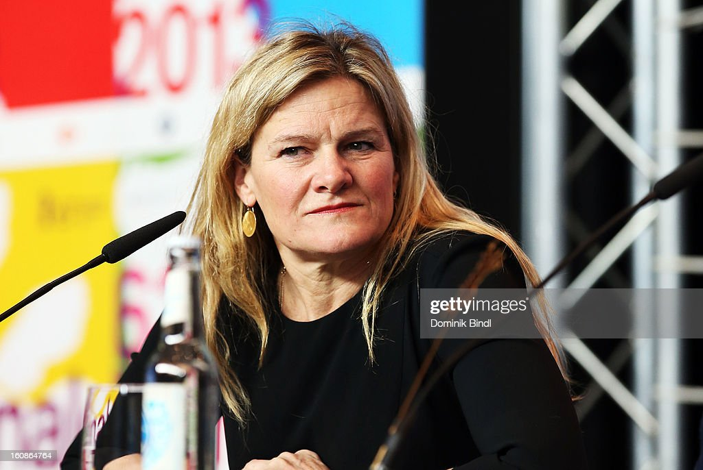Jury member <a gi-track='captionPersonalityLinkClicked' href=/galleries/search?phrase=Ellen+Kuras&family=editorial&specificpeople=243051 ng-click='$event.stopPropagation()'>Ellen Kuras</a> attends the International Jury Press Conference during the 63rd Berlinale International Film Festival at the Grand Hyatt on February 7, 2013 in Berlin, Germany.