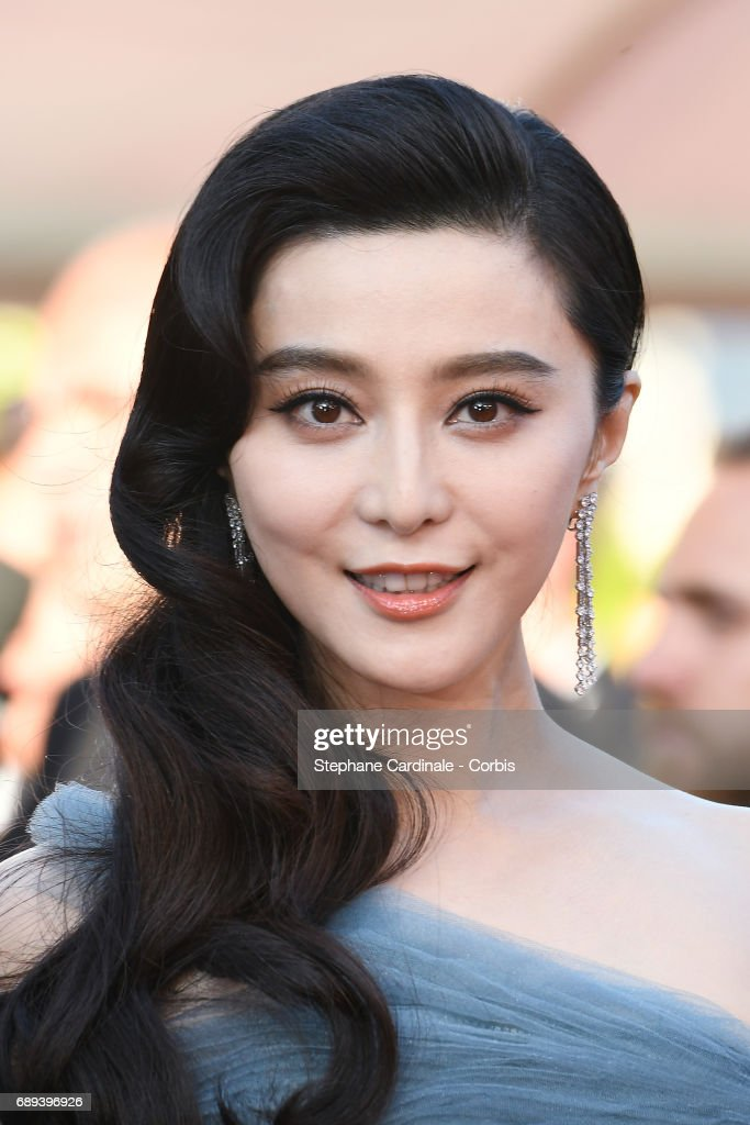 Jury member Fan Bingbing attends the Closing Ceremony during the 70th annual Cannes Film Festival at Palais des Festivals on May 28, 2017 in Cannes, France.