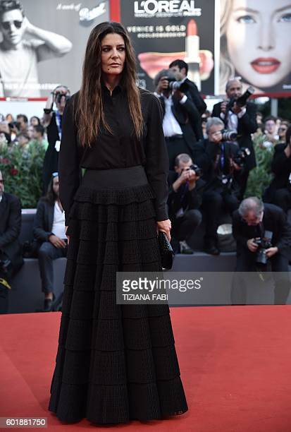 Jury member French actress Chiara Mastroianni arrives at the awards ceremony of the 73rd Venice Film Festival on September 10 2016 at Venice Lido /...