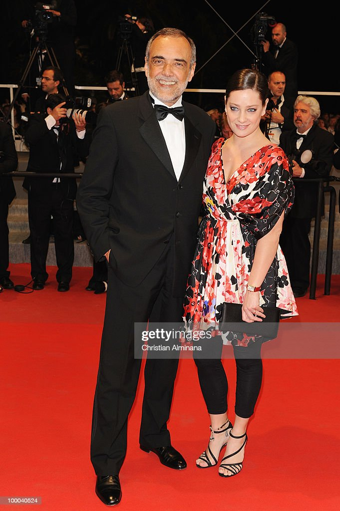 Jury Member Giovanna Mezzogiorno and guest attend the 'Our Life' Premiere held at the Palais des Festivals during the 63rd Annual International Cannes Film Festival on May 20, 2010 in Cannes, France.